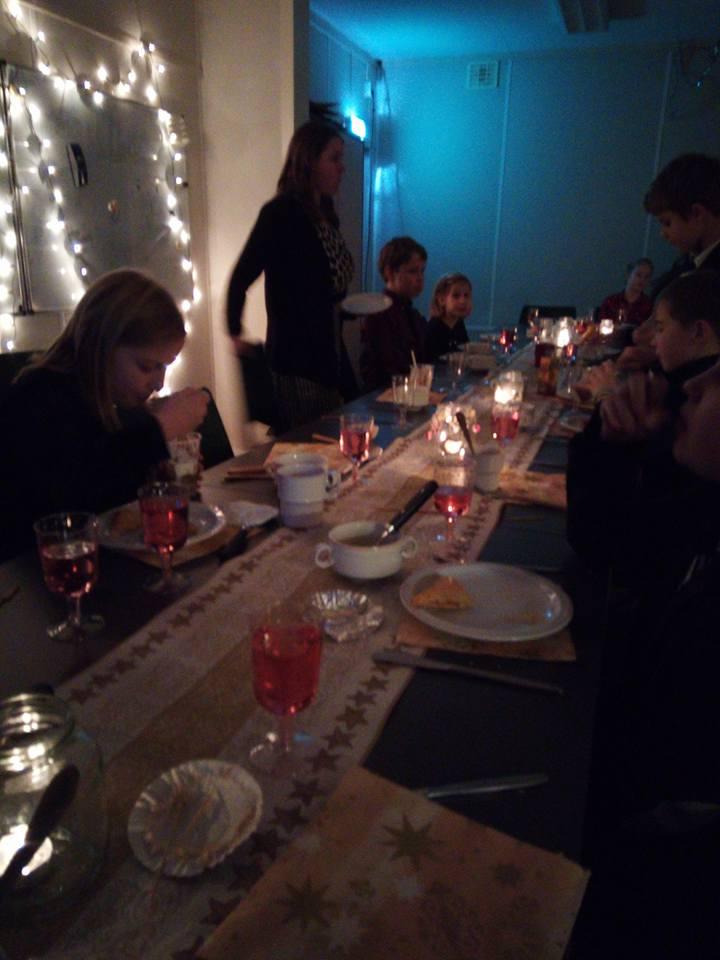 Gezellig Kerst Diner Met De Welpen